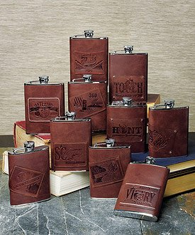 H2O (Hip to Own) Stainless Flask - specialtyribbon