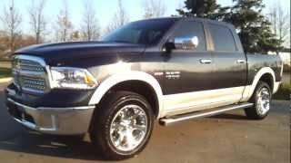 2013 Dodge Ram LARAMIE | Complete Walk Through | Unique Chrysler | - YouTube