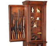 Hidden Gun Compartment in Furniture | StashVault