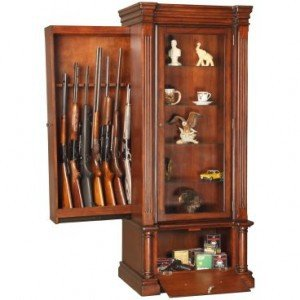 Hidden Gun Compartment in Furniture | StashVault