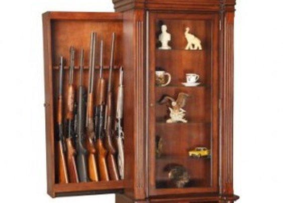 Hidden Gun Compartment in Furniture   StashVault