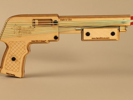 Bandit Guns: Rubber Band Shotgun by Bob Coulston — Kickstarter