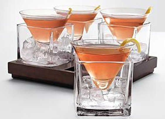 Cubist Martini Set