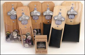 Unique Gifts - Ready Made Capcatcher Bottle Openers - Funny Beer Sayings - Beer Brands