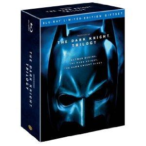The Dark Knight Trilogy on Blu-ray