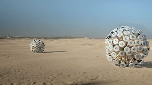 Land Mine Disposal Concept | Callum Cooper on Vimeo