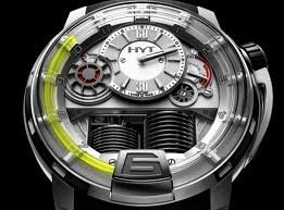 HYT H1 Titanium Watch — The Man's Man