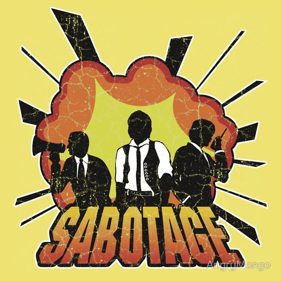 """Sabotage"" T-Shirts & Hoodies by AngryMongo 