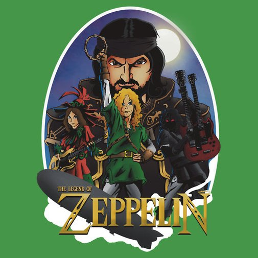 """The Legend Of Zeppelin"" T-Shirts & Hoodies by Bate-Man26 