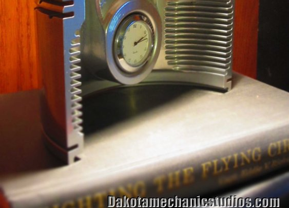 Authentic DC-3, C-47, B-17 Wright R-1820 Airplane Engine Half Piston Clock | eBay