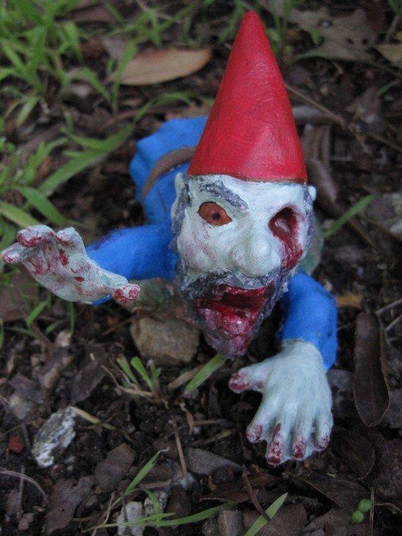 Zombie Gnomes Legless Larry by ChrisandJanesPlace on Etsy