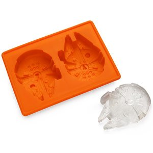 ThinkGeek :: Star Wars Millennium Falcon Ice Cube Tray