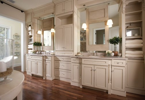Kitchen and Bath Cabinets: Lifetime Home Cabinetry from Wellborn Cabinet, Inc.
