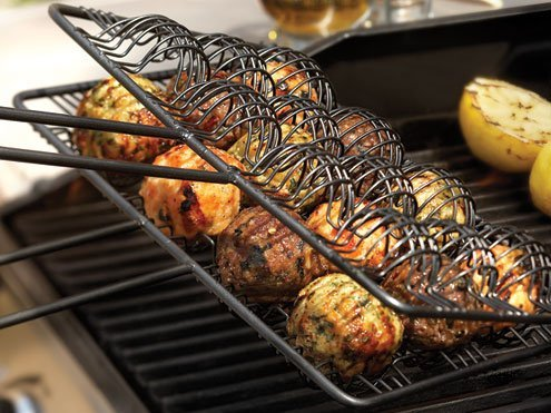Nonstick BBQ Meatball Basket