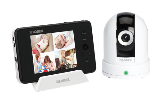 Pan Tilt baby camera with monitor - LOREX