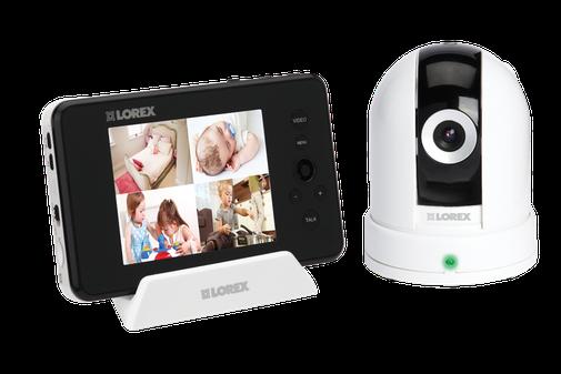 Pan Tilt baby camera with monitor - LOREX