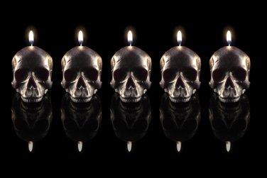 Skull Candle Set