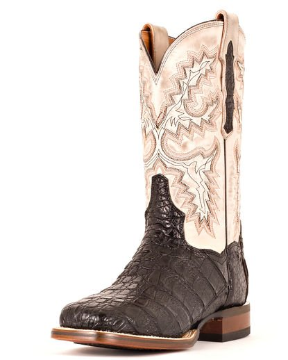 Dan Post Men's Denver Caiman Boots - Black