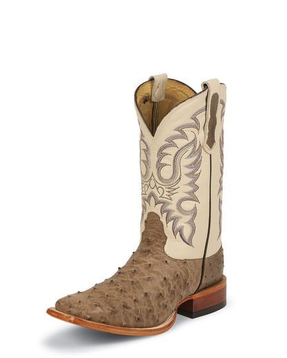 Nocona Men's Antique Mink Vintage FQ Ostrich Boot