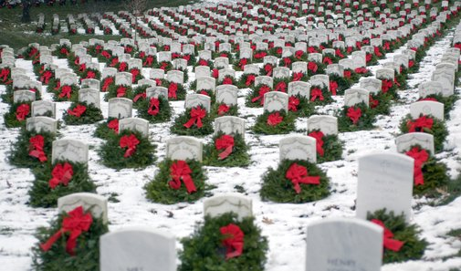 Wreaths Across America   Our Mission: Remember, Honor & Teach