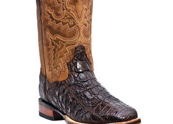 Dan Post Men's Denver Caiman Boots - Chocolate