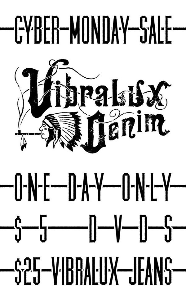 Cyber Monday Sale! | Vibralux Denim