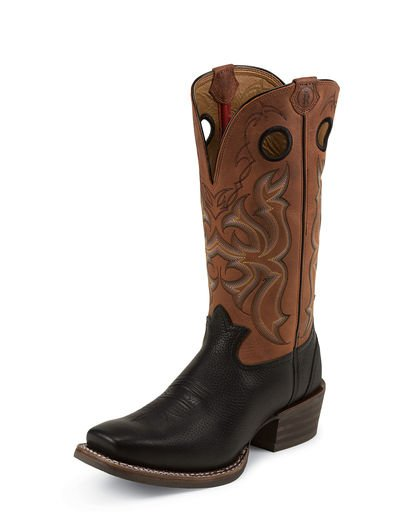 "Tony Lama Men's Black Mustang 13"" Boot"
