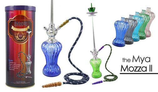 Mya Mozza 2 Hookah - The New & Improved Mya Mozza Hookah - Cannaswag