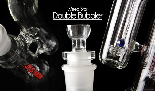 Weed Star Double Bubbler