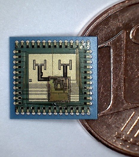 Fingernail-sized radar chip could be used in future smartphones