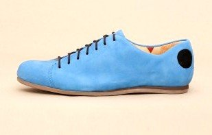Atheist Berlin Blue Suede Shoes