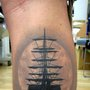 sail boat tat