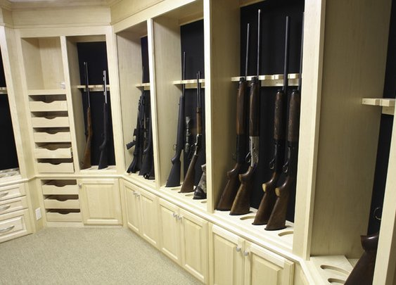 Gun Safe Room