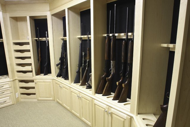Gun safe room gentlemint for How to build a gun safe room