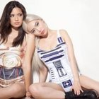 20 hot girls dressed like R2-D2 or C-3PO