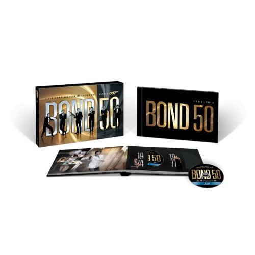 Bond 50: The Complete 22 Film Collection on Blu-ray