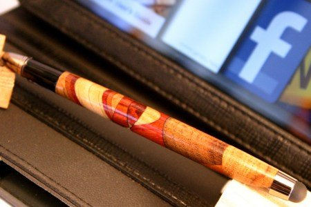 Stylus handcrafted slimline wood stylus by Hope & Grace Pens