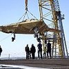 U.S.S. Harry S. Truman (CVN 75) Hosts X-47B Unmanned Aircraft Demonstrator for Carrier-Based Testing