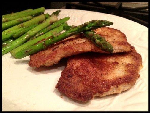 No Shake, No Bake, Healthier Pork Chops