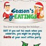 Infographic: Season's grEATINGS! Holiday Weight Gain and Your Weight Loss Solutions