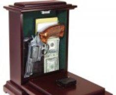 Secret Compartment Mantel Clock