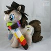"The Fourth Doctor As a Huggable ""My Little Pony"" Plush"