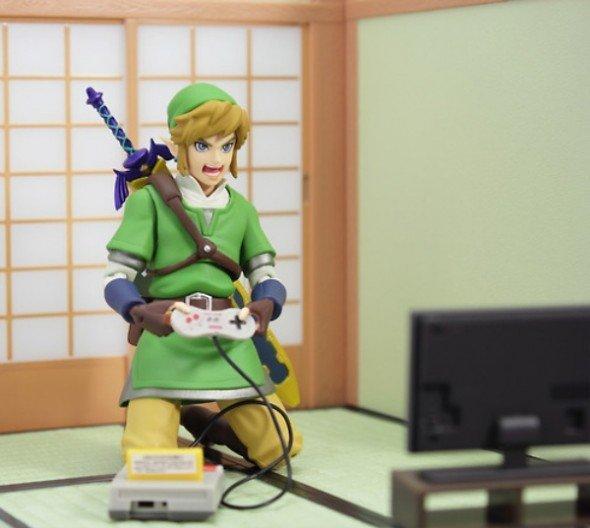 Zelda Plays Zelda