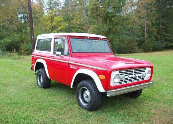 1973 Ford Bronco - $18000 (Hildebran)