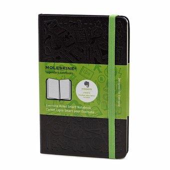 Evernote Pocket Ruled Smart Notebook (3.5 x 5.5), MoleskineUS