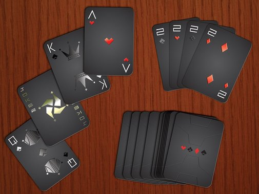 Stealth Playing Cards by AK Graphx — Kickstarter