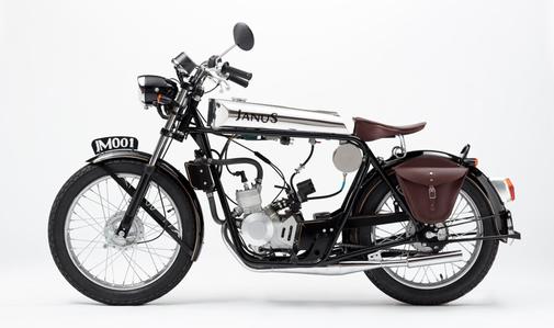 Very cool little motorbike