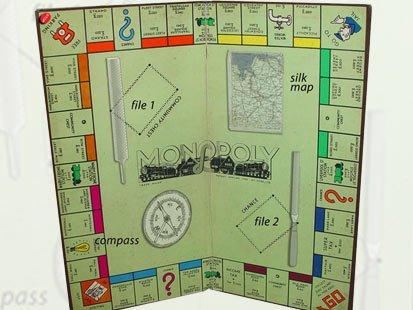 Monopoly's Hidden Maps Help World War II POWs Escape