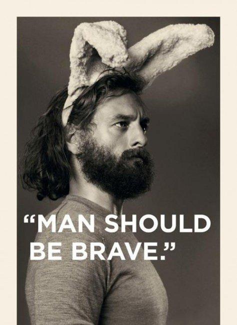 Man Should Be Brave — The Man's Man