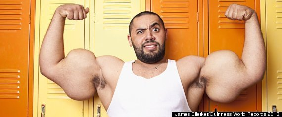 Moustafa Ismail, 'Egyptian Popeye,' Says Giant Arms Are Real, All-Natural